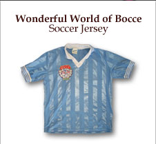bocce soccer jersey