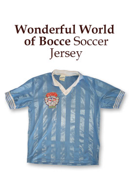 bocce jersey